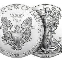 2017 USA 1 OZ SILVER AMERICAN EAGLE 1 DOLLAR FDC