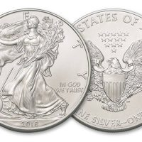 2018 USA 1 OZ SILVER AMERICAN EAGLE 1 DOLLAR FDC