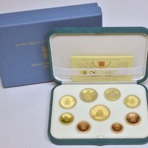 VATICANO 2019 SERIE DIVISIONALE PROOF EURO 50 ORO PROOF