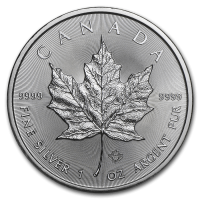 2019 CANADA 1 OZ SILVER MAPLE LEAF 5 DOLLARS FDC