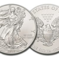 2019 USA 1 OZ SILVER AMERICAN EAGLE 1 DOLLAR FDC