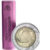 Roll 2 euro commemorative